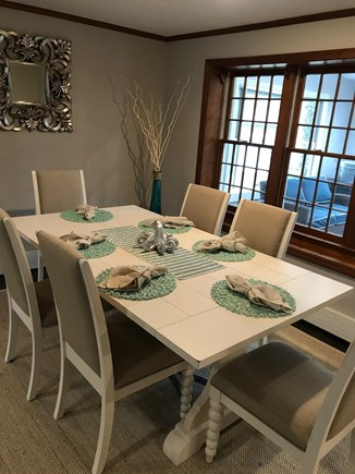 West Falmouth Cape Cod vacation rental - Dining Table