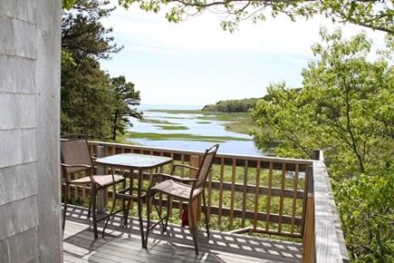 Wellfleet Cape Cod vacation rental - Master Bedroom Deck