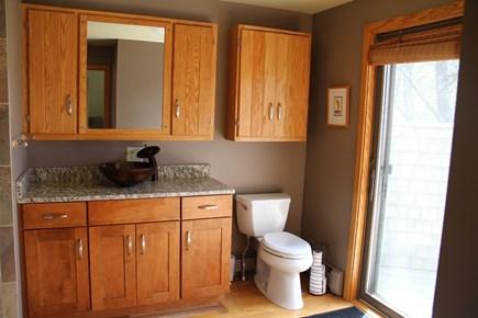 Wellfleet Cape Cod vacation rental - Master Bathroom