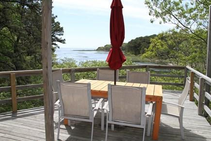 Wellfleet Cape Cod vacation rental - Main Deck