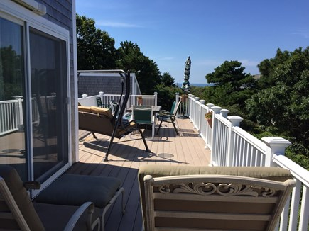 Truro Cape Cod vacation rental - Upper Desk,W/swing and Beautiful Bay & Sunset Views !