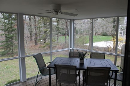 Harwich Cape Cod vacation rental - Fabulous Screened In Porch