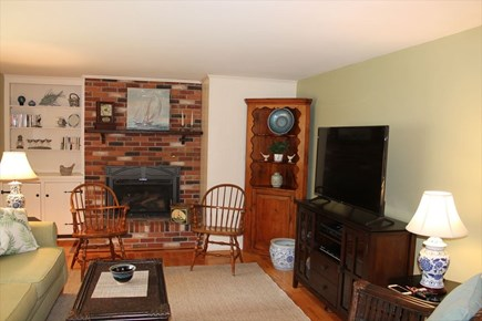 Harwich Cape Cod vacation rental - Fireplace and Flat screen TV
