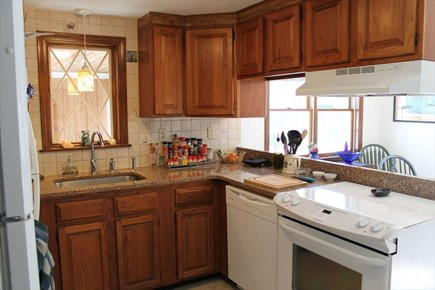 Harwich Cape Cod vacation rental - Kitchen Opens to Dining Area