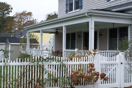 Harwich Cape Cod vacation rental - Rear Porch