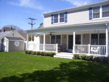 Harwich Cape Cod vacation rental - Backyard