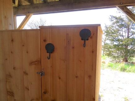 Wellfleet Cape Cod vacation rental - Lovely cedar outdoor shower