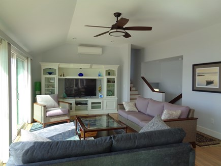Wellfleet Cape Cod vacation rental - Cool and calming color scheme with amazing views