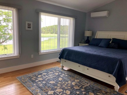 Wellfleet Cape Cod vacation rental - Master with TV, master bath and amazing top floor views!