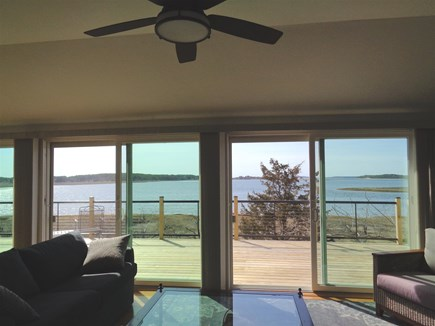 Wellfleet Cape Cod vacation rental - Amazing water views from the living room