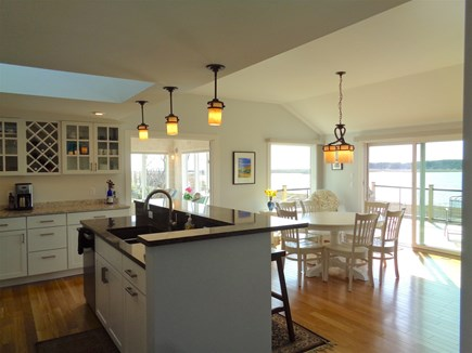 Wellfleet Cape Cod vacation rental - Open Kitchen/Living/Dining With Amazing Views