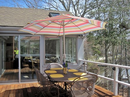 Centerville Centerville vacation rental - Sunny dining for 6 overlooking the lake