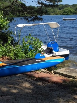 Centerville Centerville vacation rental - Pedal boat, paddle board, 2 kayaks and an inflatable boat!