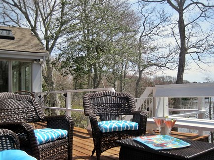 Centerville Centerville vacation rental - Evening cocktails on the deck