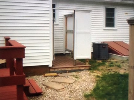 West Yarmouth Cape Cod vacation rental - Enclosed outside shower