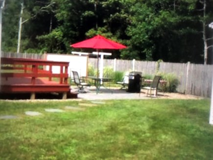 West Yarmouth Cape Cod vacation rental - Patio with patio set and gas grill