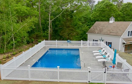 Orleans Cape Cod vacation rental - Brand new heated pool just installed!