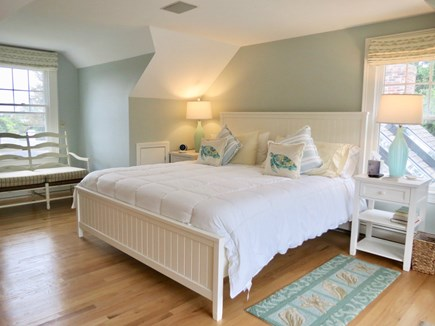 Orleans Cape Cod vacation rental - Master bedroom upstairs with a King