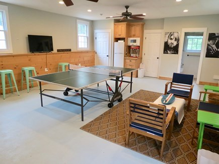 Orleans Cape Cod vacation rental - The carriage house is a great game room with ping pong table