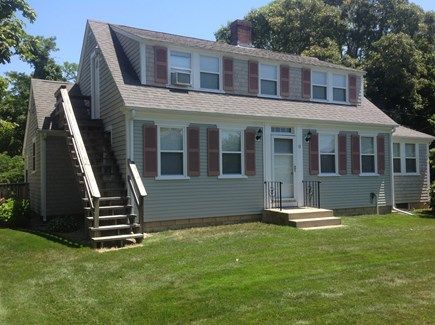 Hyannis Cape Cod vacation rental - View of front of house ( stairs are the fire escape)