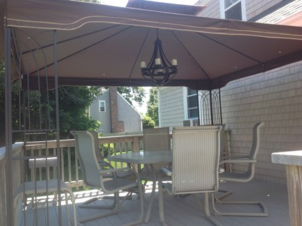 Hyannis Cape Cod vacation rental - Cabana covered deck