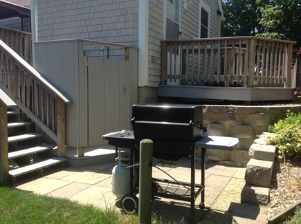 Hyannis Cape Cod vacation rental - Gas grill area