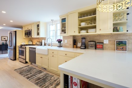 Barnstable Cape Cod vacation rental - Fully equipped, splendid social kitchen