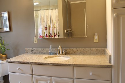 Eastham Cape Cod vacation rental - Updated bathroom with tub/shower