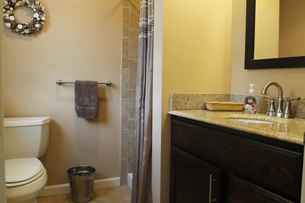 Eastham, near Coast Guard Beach, Eastha Cape Cod vacation rental - Updated bathroom with ceramic shower