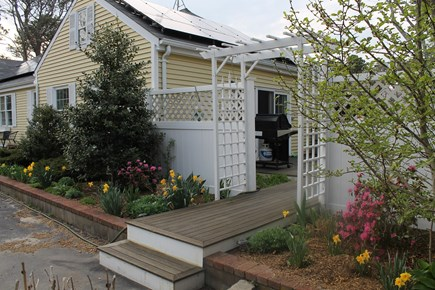 Eastham Cape Cod vacation rental - Outside entrance to deck