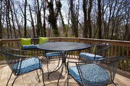Orleans Cape Cod vacation rental - Plenty of seating and outdoor dining on the deck