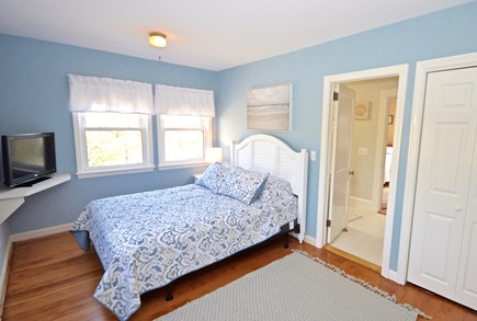 Orleans Cape Cod vacation rental - Queen master on upper level with flat screen