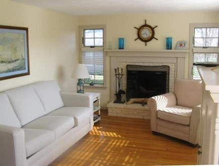 Falmouth Cape Cod vacation rental - Cozy living room