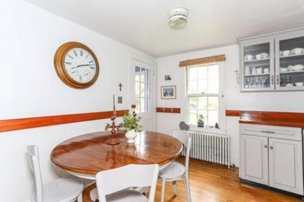 Falmouth Cape Cod vacation rental - Kitchen dining area