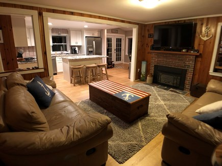 Brewster Cape Cod vacation rental - Open concept house. Completely renovated in 2018