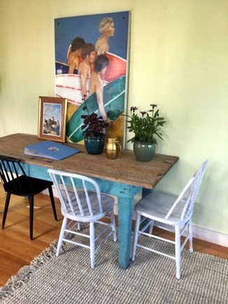 Chatham Cape Cod vacation rental - Dining table cottage