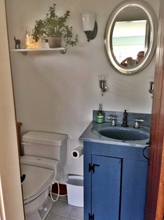 Chatham Cape Cod vacation rental - Master bedroom half bath