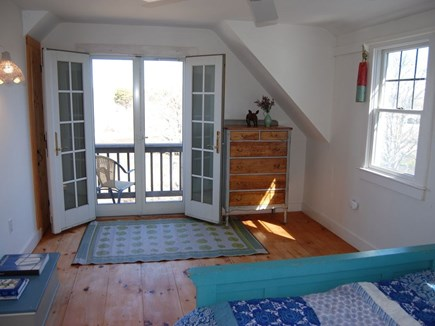 Chatham Cape Cod vacation rental - Cottage master bedroom with porch