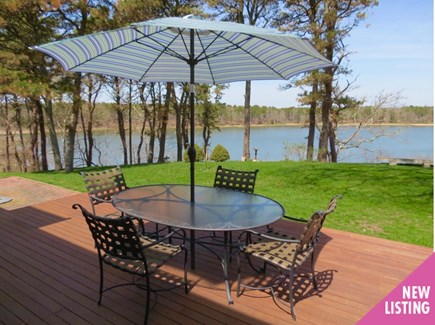Orleans Cape Cod vacation rental - Enjoy dinner with a water view.