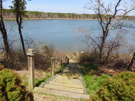 Orleans Cape Cod vacation rental - Just a few steps down to the water.Time for a boat ride!