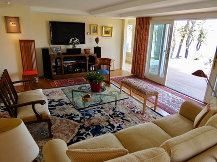 Orleans Cape Cod vacation rental - Comffortable living room/TV lounge
