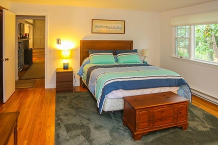Wellfleet Cape Cod vacation rental - Master with Queen and private bath and access to deck