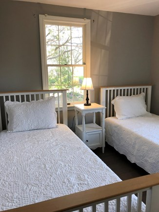 Orleans Cape Cod vacation rental - First floor bedroom with 2 brand new twin  beds linens