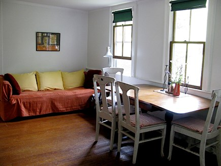 Wellfleet Cape Cod vacation rental - Living room/dining area