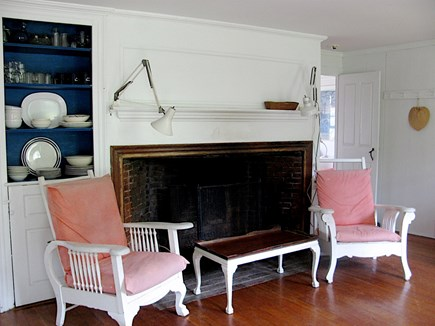 Wellfleet Cape Cod vacation rental - Living room, area across from dining area
