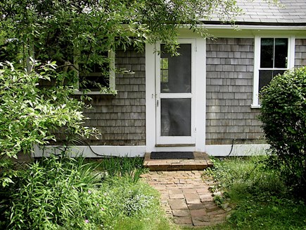 Wellfleet Cape Cod vacation rental - Front entrance