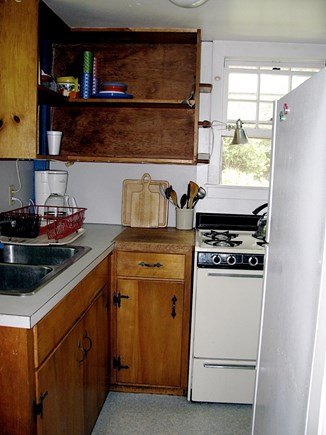 Wellfleet Cape Cod vacation rental - Galley kitchen