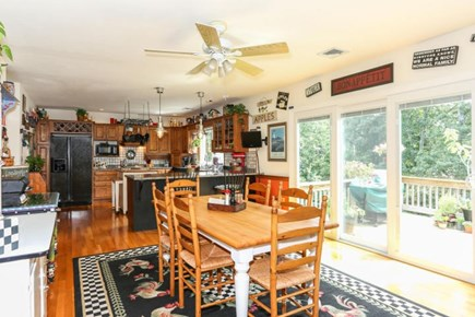 Dennis Cape Cod vacation rental - Dining area open to kitchen and living room