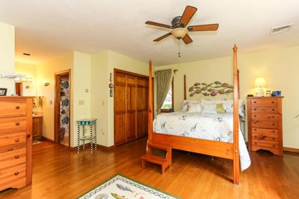 Dennis Cape Cod vacation rental - Master suite with full bath