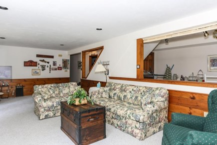 Dennis Cape Cod vacation rental - Lower level Living area with 2 bedroom and 2 full baths